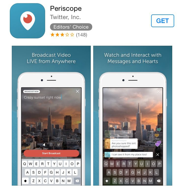 where to get periscope app